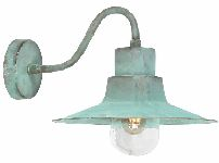 Elstead SHELDON V Verdigris Outdoor Wall Lantern